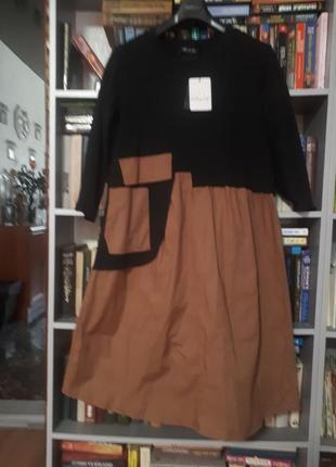 Стильное новое итальянское платье