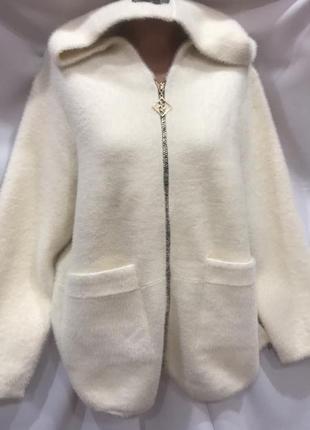 Куртка альпака цвет