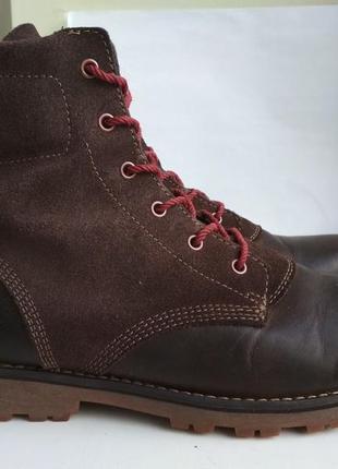 Демисезонные ботинки timberland р.38