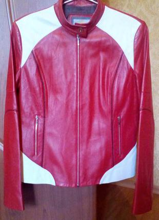 Классная кожаная куртка от nuozhi   выбирайте подарок!