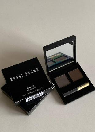 Bobbi brown тени для коррекции бровей brow kit №3