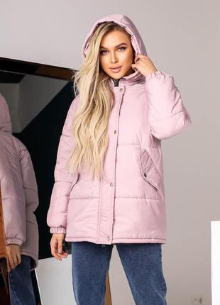 Куртка женская демисезон зима на синтепоне оверсайз