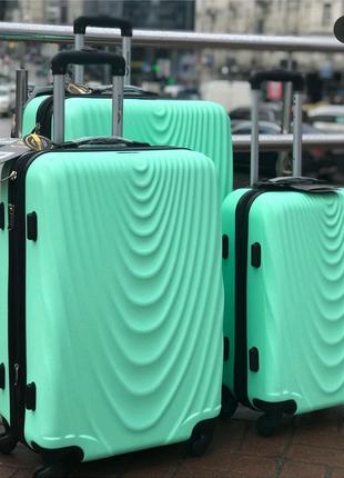 Чемодан дорожный, сумка на колесах, wings, валіза дорожня