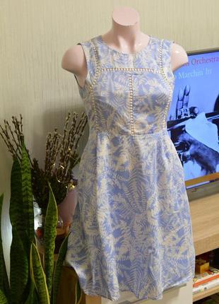 Платье летнее с карманами