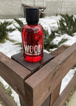 Dsquared red wood 100ml tester