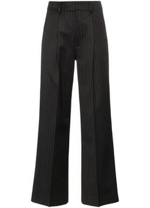 Длинные брюки легкий клеш в тонкую полоску