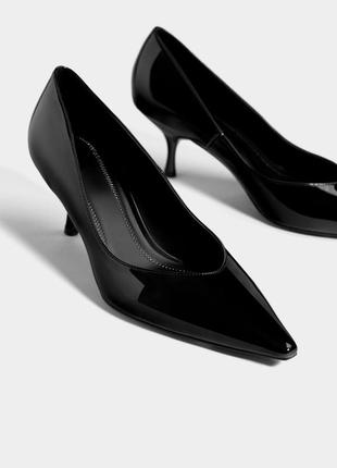 Bershka новые туфли лодочки