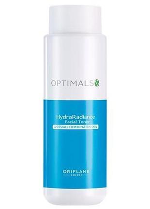 Тоник для нормальной и комбинированной кожи optimals hydra radiance