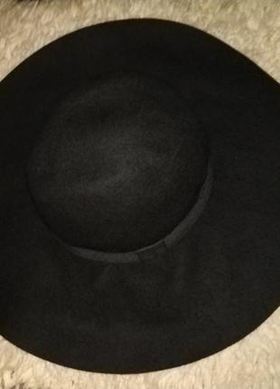Актуальная шерстяная шляпа с широкими полями от h&m