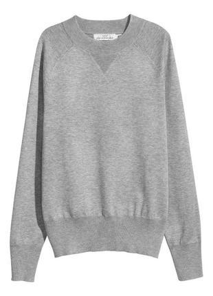 Серый свитер нм
