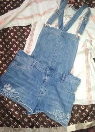 Комбенизон джинсовый женский