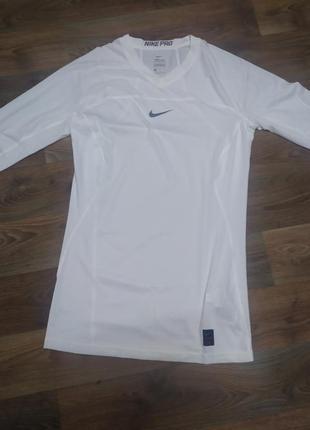 Термо кофта nike pro hyperwarm футболка