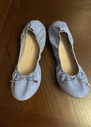 Новые туфли, балетки new look 37 размер
