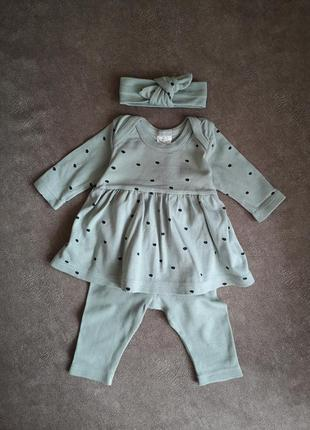Платье-боди со штанишками и солошкой