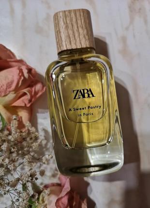 Zara духи a sweet party in paris