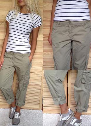 Очень крутые штаны хаки h&m