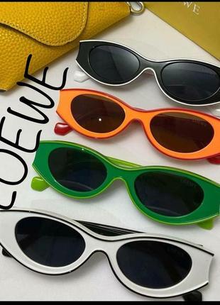 Ультрамодные очки солнцезащитные кошки кошечки