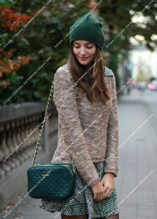 Кашемировая шапка cos 302964 dark green