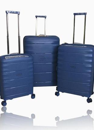 Дорожный чемодан airtex 242. лучший чемодан из полипропилена, валіза