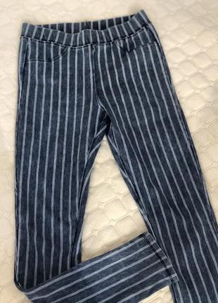 Шикарные штаны в полоску zara