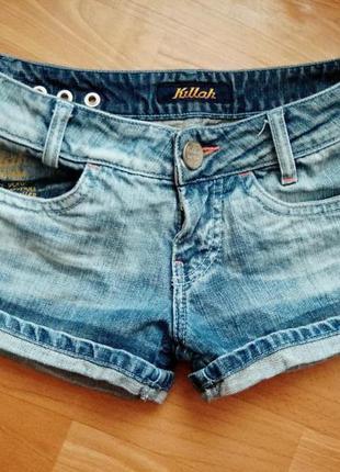 Шорты качественного джинса
