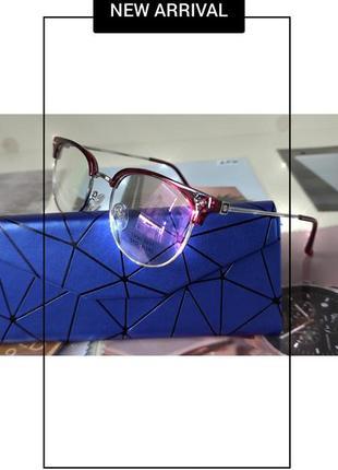 Ретро очки .имиджевая оправа.