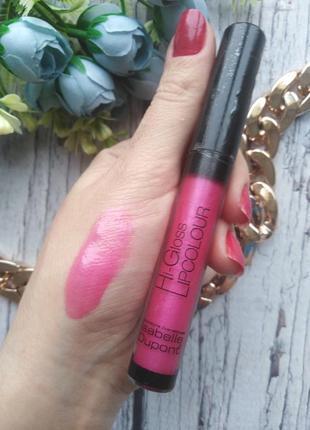 Блеск для губ isabelle dupont hi-gloss lipcolor тон lc 321