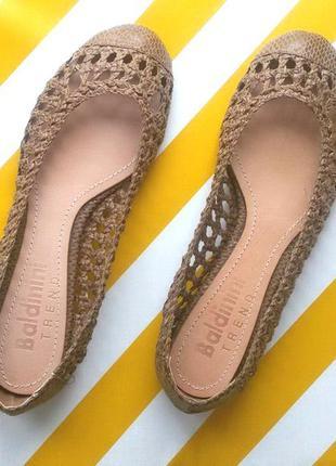 bee3d5792 Кожаные балетки туфли