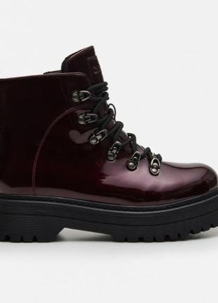 Женские ботинки cropp 39 короткие весенние сапоги