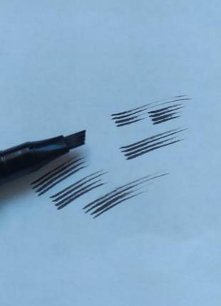 Фломастер карандаш для бровей, с эффектом натуральных волосков, обмен