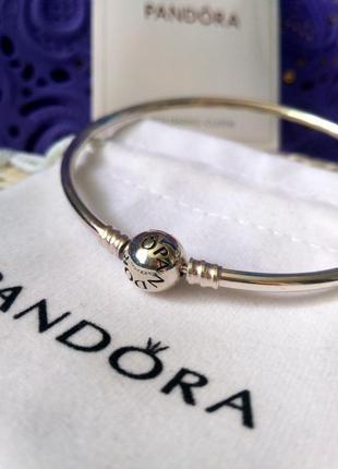 Серебряный браслет пандора бэнгл 925