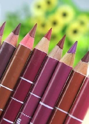Водостойкий карандаш для губ