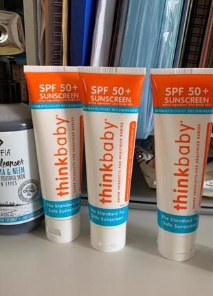 Солнцезащитный крем spf 50+