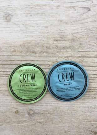 Крем паста фиксирующая для волос american crew
