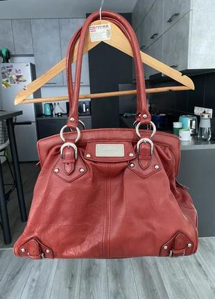Вместительная сумка karen millen кожа оригинал