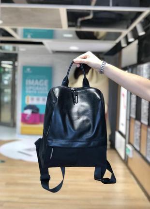 Городской женский рюкзак из натуральной кожи