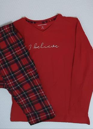 Xs, s,xl, xxl большемерят хлопковые пижамы из англии