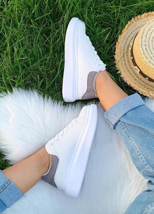 Кеды 🌿 кроссовки кеди мокасины белые базовые