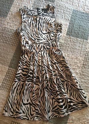 Плаття зебра