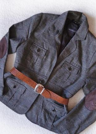 Пиджак жакет приталенный cassis collection