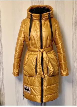 Женское демисезонное пальто,плащ,размер 54,монклер.