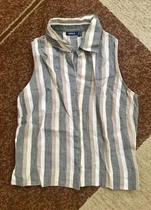 Льняная блуза mexx