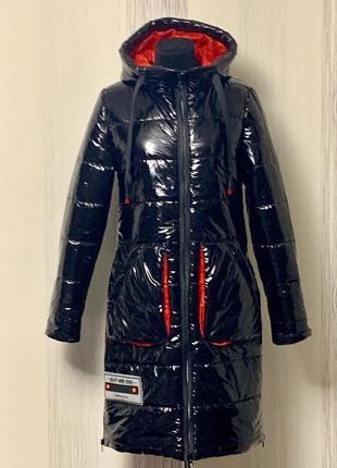 Стильное пальто,монклер, размер 48.