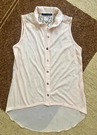 Комбинированная блуза