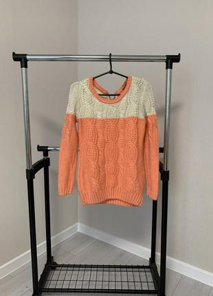 Зимний тёплый свитер