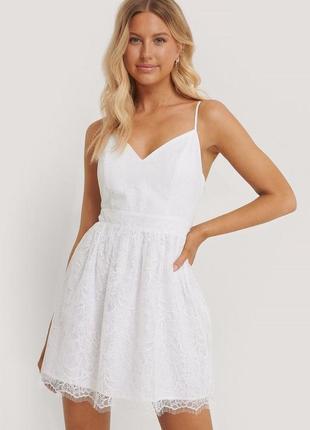 Белоснежное платье от na-kd2 фото