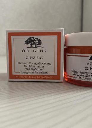 Ginzing energy-boosting gel moisturizer 50ml