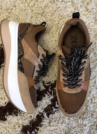 Идеальные кроссовки zara