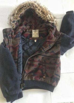 Очень крутая куртка pull&bear