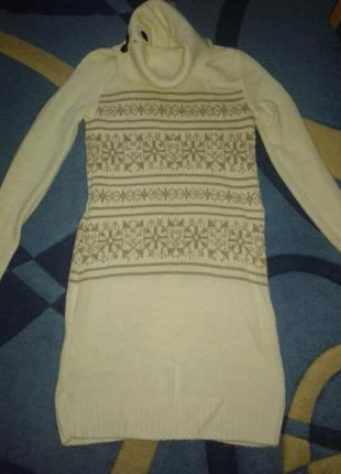 Ostin зимнее платье -свитер